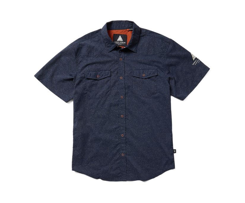 Chaco X Howler H Bar B Tech Shirt, Petrol, dynamic