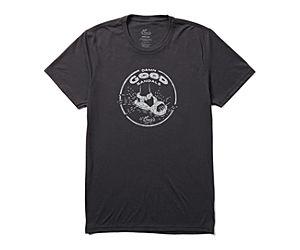 Chaco Damn Good Logo Tee, Dark Grey, dynamic