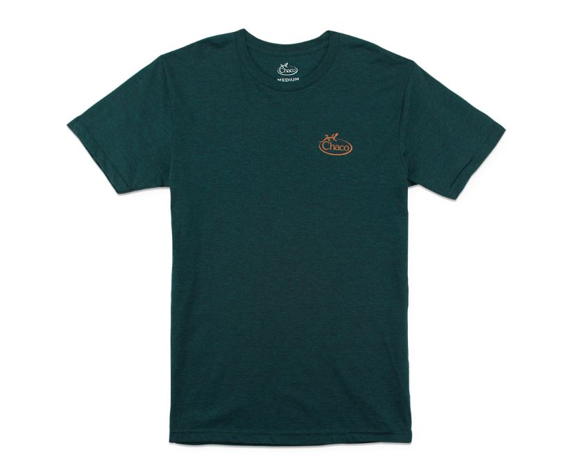 Chaco Logo Tee, Midnight, dynamic