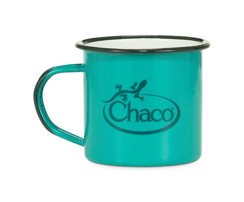 Chaco Enamel Mug, Sky Blue, dynamic