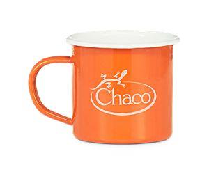 Chaco Enamel Mug, Poppy, dynamic