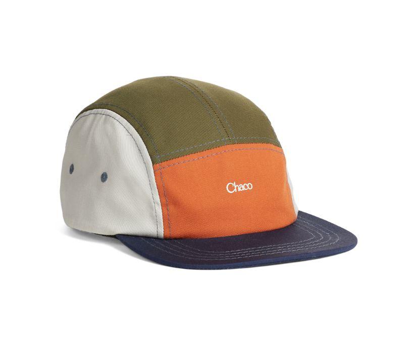 Chaco 5-Panel Hat, Rust, dynamic
