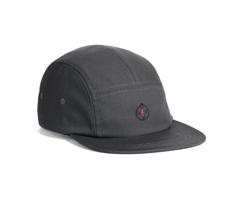 Chaco 5-Panel Hat, Charcoal, dynamic