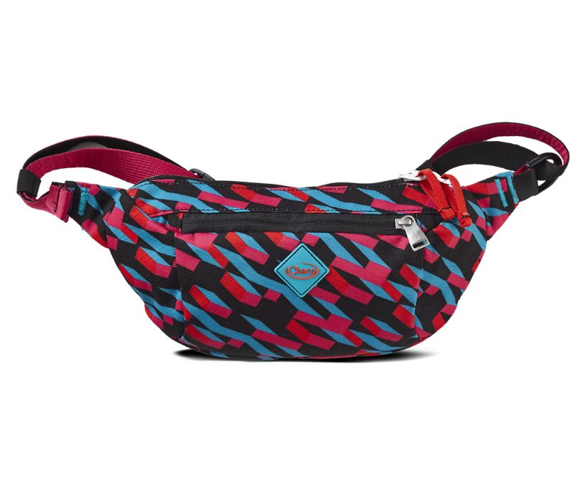 Radlands Hip Pack, Band Magenta, dynamic