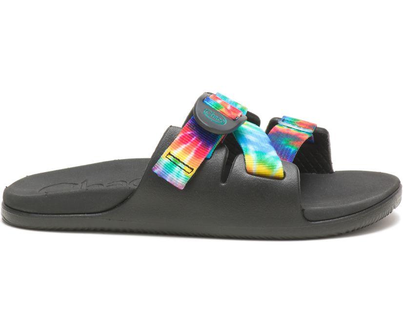 Chillos Slide, Dark Tie Dye, dynamic