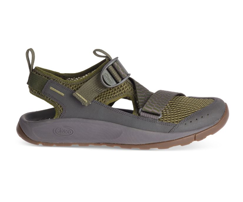 Odyssey Sandal, Hunter Green, dynamic
