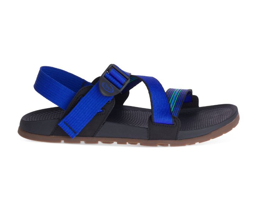 Lowdown Sandal, Caspian Blue, dynamic