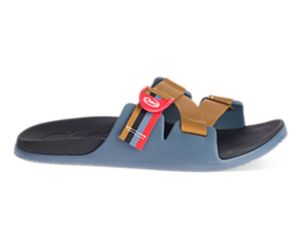 Chillos Slide, Patchwork Blue, dynamic
