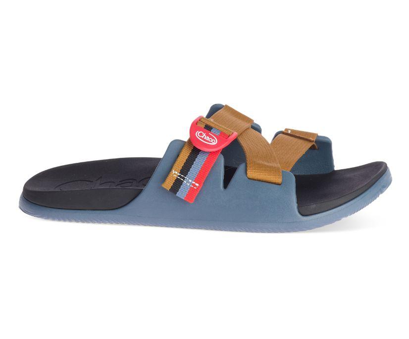 Chillos Slide, Patchwork Blue, dynamic