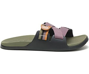 Chillos Slide, Patchwork Black Olive, dynamic