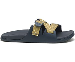 Chaco x Huckberry Chillos Slide USA, Agave Olive, dynamic
