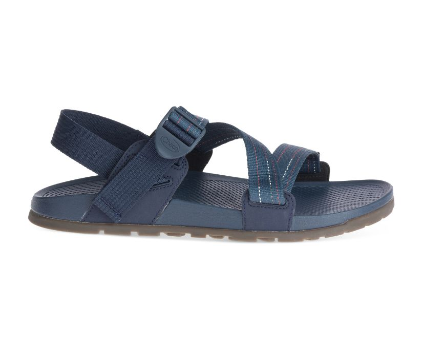 Lowdown Sandal, Navy, dynamic