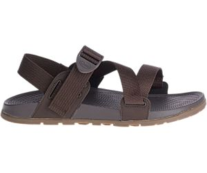 Lowdown Sandal, Brown, dynamic
