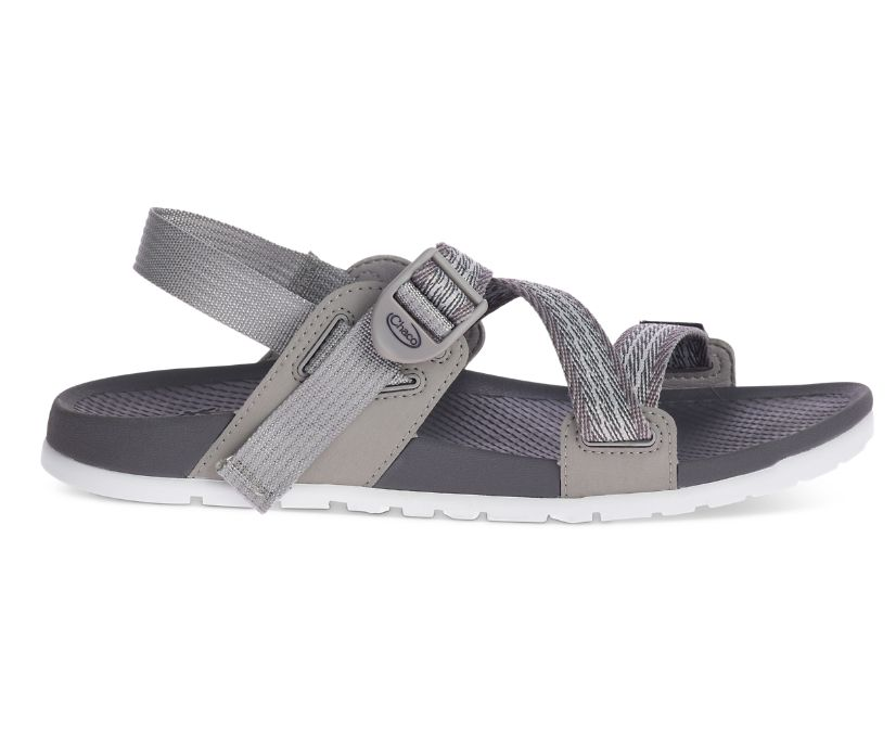 Lowdown Sandal, Pully Grey, dynamic