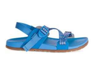 Lowdown Sandal, Sprink Cerulean, dynamic