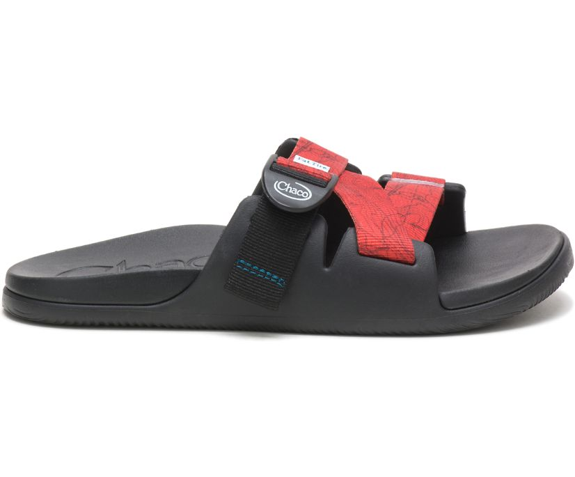 Chaco X New Belgium Chillos Slide, Contour Black, dynamic