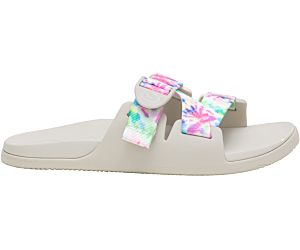 Chillos Slide, Light Tie Dye, dynamic