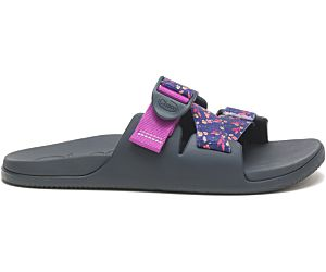 Chillos Slide USA, Floral Dark, dynamic