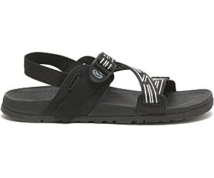 Lowdown Sandal, Luminous Black/White, dynamic