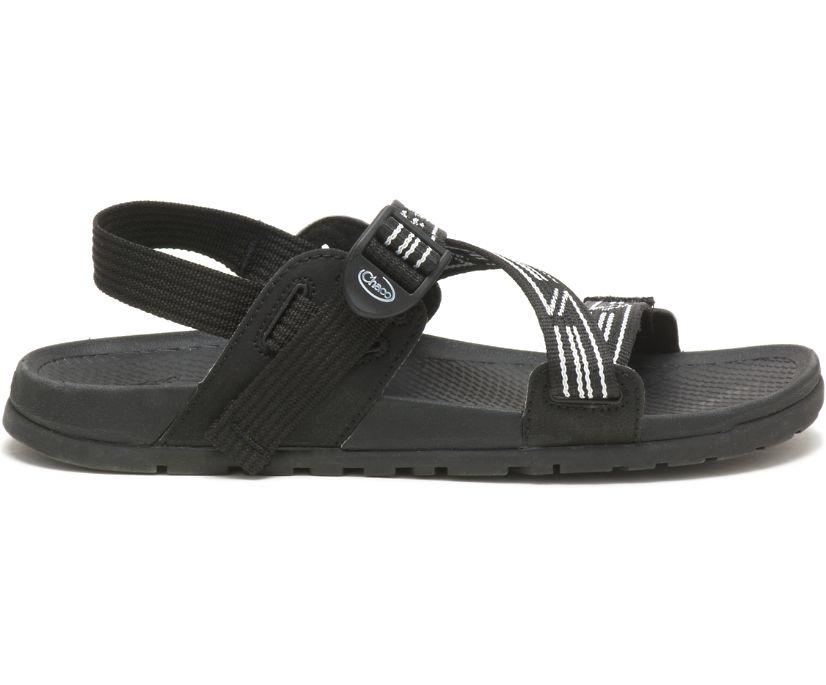 Lowdown Sandal, Luminous Black/White, dynamic