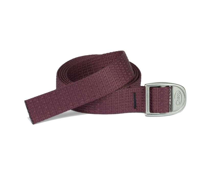 "1"" Webbing Belt, Fig, dynamic"