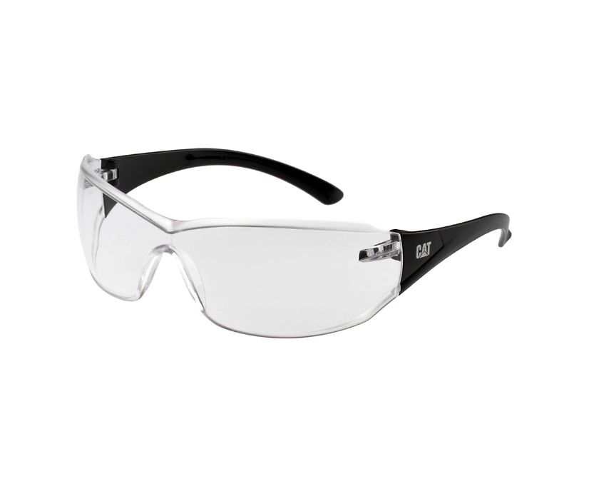 Shield Safety Glasses, Clear, dynamic