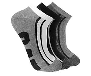 Half Cushion Quarter Sock 3-Pack, Multi, dynamic