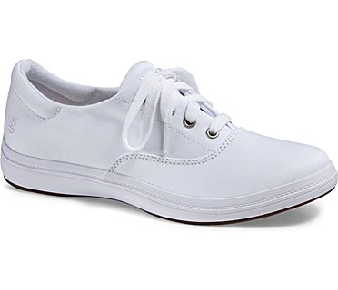Janey II, White Stretch Twill, dynamic