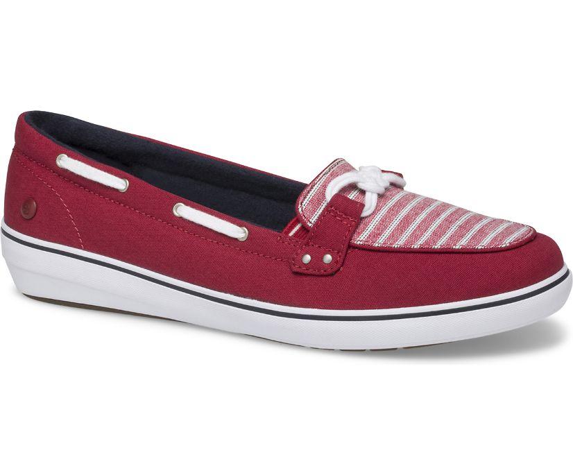 Windsor Knot Sporty Stripe, Red, dynamic