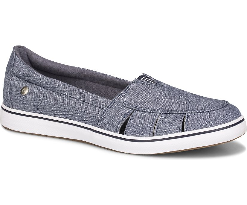 Hampton Fisherman Chambray, Navy, dynamic