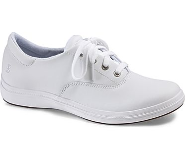 Janey II Leather, White, dynamic