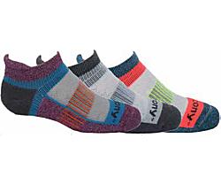 Kids's Inferno 3-Pack Sock, Grey Multi, dynamic