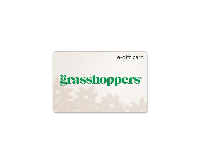 Grasshoppers e-Gift Card, E-Card, dynamic