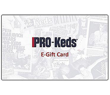 PRO-Keds Gift Card, E-Card, dynamic