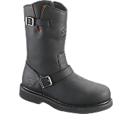 Jason Steel Toe, Black, dynamic