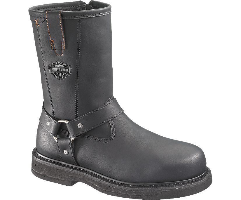 Bill Steel Toe, Black, dynamic