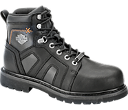 Chad Steel Toe, Black, dynamic