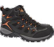 Woodridge Composite Toe, Black/Orange, dynamic