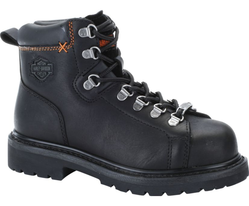 Gabby Steel Toe, Black, dynamic