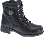 Raine Steel Toe, Black ST, dynamic