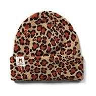 Knit Beanie, Leopard Print, dynamic