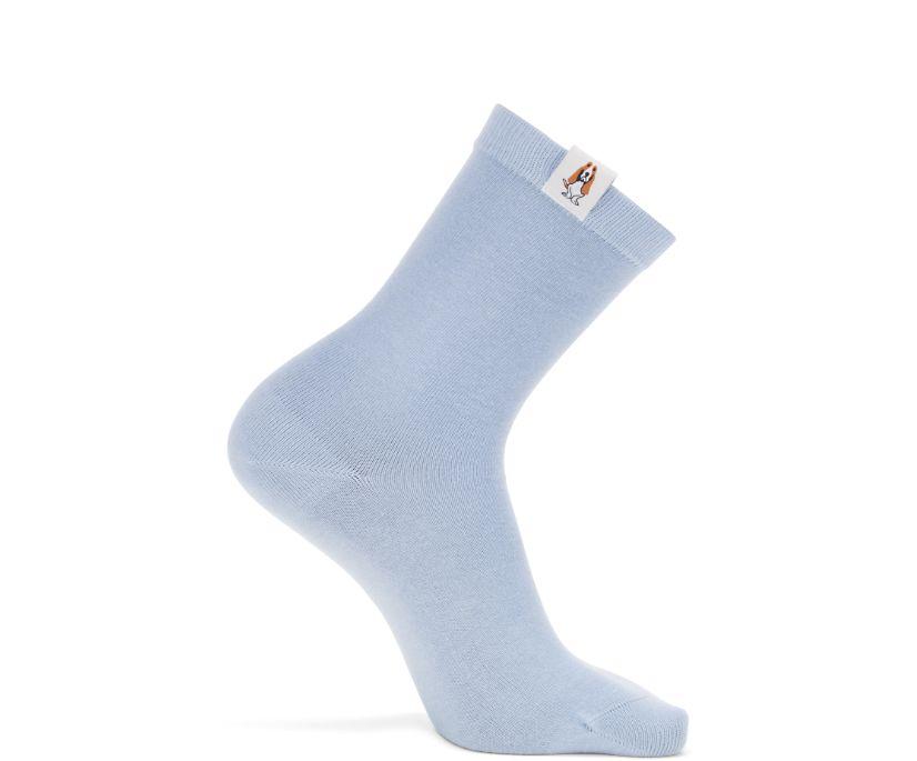 Core Crew Sock, Steel Blue, dynamic