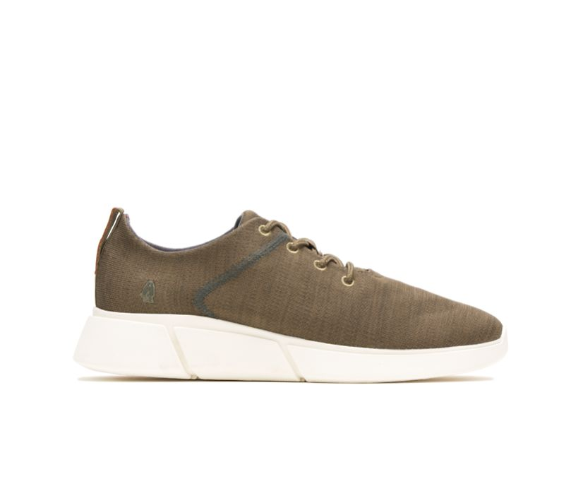 Cooper Lace Up, Olive Heathered, dynamic