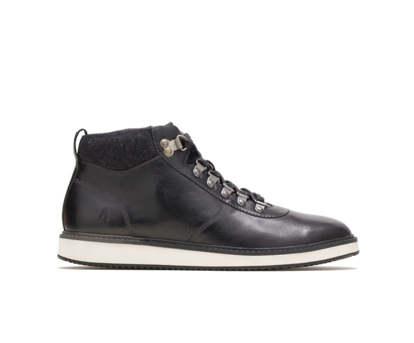 Heath Hiker Boot, Black Leather, dynamic