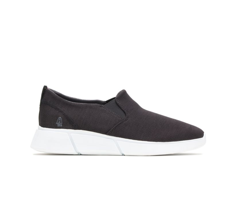 Cooper Slip-On, Black Heathered/White Outsole, dynamic