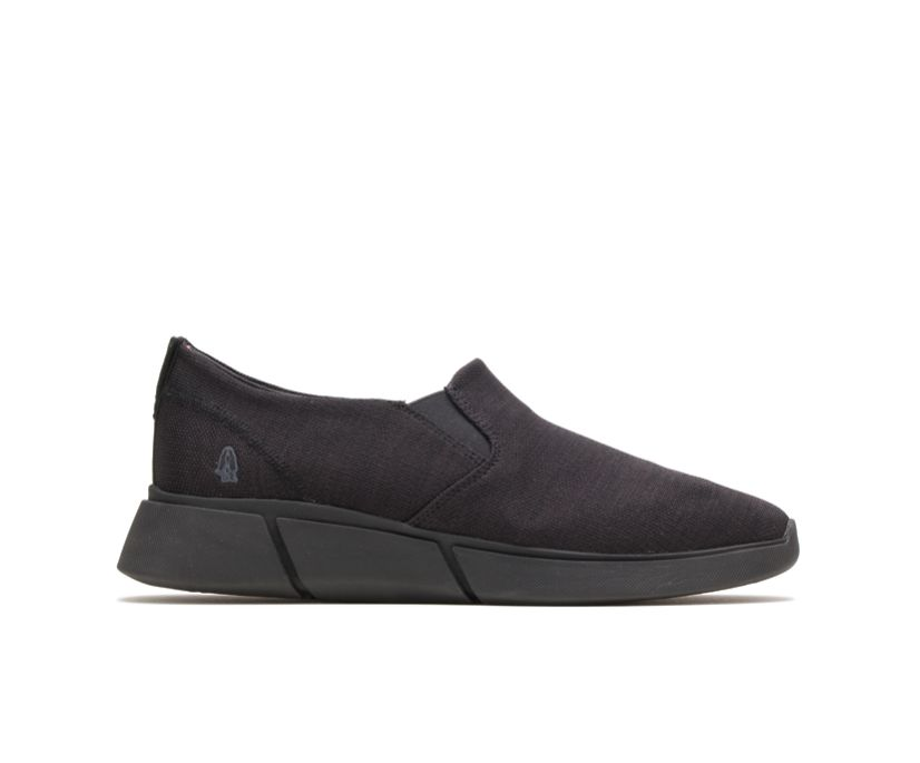 Cooper Slip-On, Black Heathered/Dark Outsole, dynamic