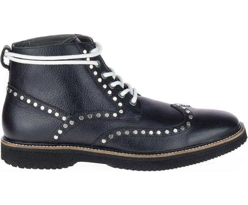 Bernard 90's Chukka, Black Leather, dynamic
