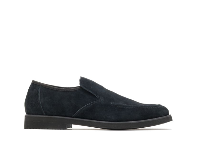 Bracco MT Slip-On, Black Suede, dynamic