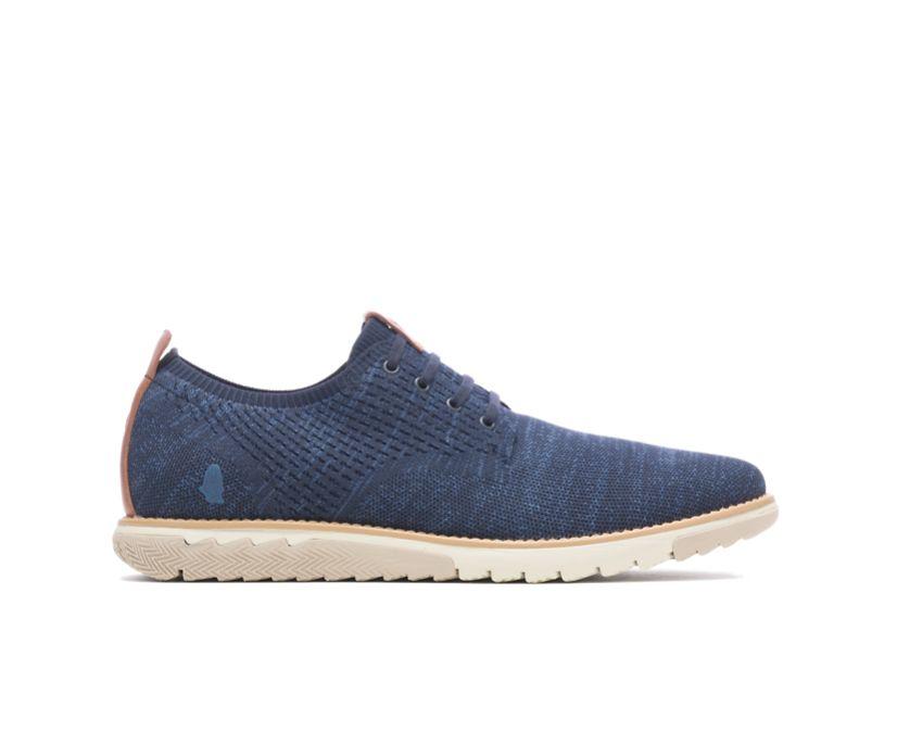 Expert Knit Plain Toe Oxford, Navy Textile, dynamic