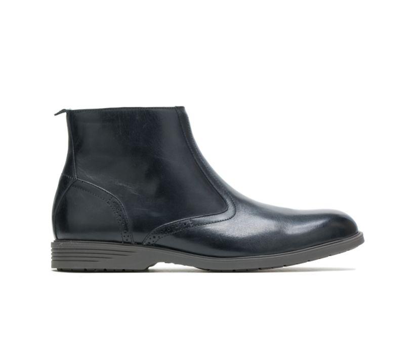 Shepsky Zip Boot, Black Leather, dynamic
